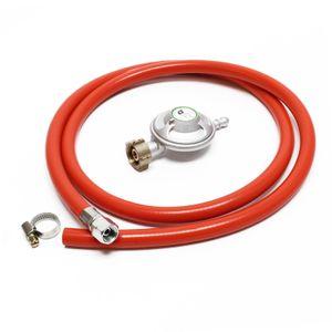 10.3€/m Gasschlauch 1,5 m Druckregler 37 mbar Druckminderer Gas Frankreich Gasdr