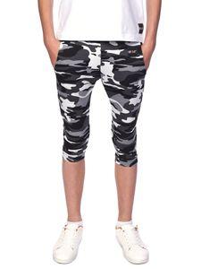 BEZLIT Kinder Jungen Stoff Capri Shorts Camouflage 152/158
