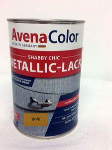 Avena Shabby Metallic Lack 1 Liter Gold  Vintage Farbe gold