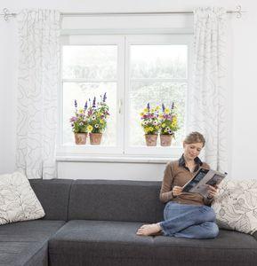 """Komar Window-Sticker """"Springtime"""", bunt, 31 x 31 cm"""