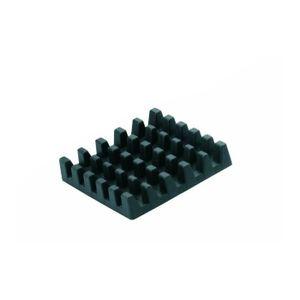 GEFU 13760 Schneideinsatz für Pommes-Schneider, 9 x 9 mm, schwarz (1 Stück)