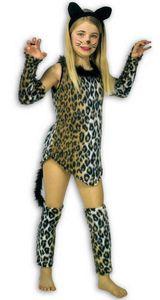 Katze Schnurrli Kätzchen Tiger Kinder Karneval Kostüm 116