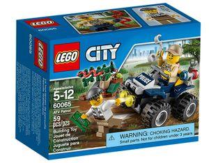 Lego 60065 City - Auf Streife im Sumpfpolizei-Quad