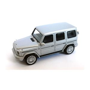 Herpa 430760 Mercedes Benz G-Klasse silber Maßstab 1:87