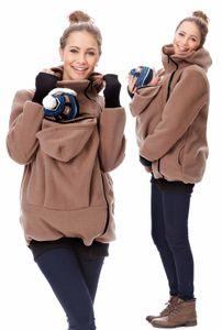 GFWL Tragejacke #Känguru Babytrage Jacke, Baby tragen, Tragekleidung Allround Fleece GF2301XFY, Größe Damen EU:38 Medium