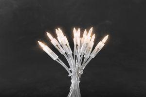 Konstsmide - LED Minilichterkette, 35 warm weiße Dioden, 230V, Innen, transparentes Kabel ; 6302-103