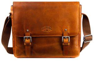 KLONDIKE 1896 Digger Joe Messenger Bag L Cognac