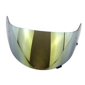 Motorrad Vollgesichtshelm Visier für Hjc hj-09 cl-15 cl-17 cl-16 cl-sp 2 Farbe Golden