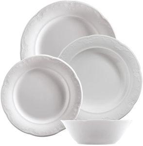 Kütahya Porselen Caprice 24 tlg Tafelservice Essservice Tellerset Kombiservice