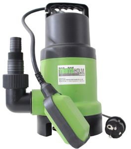 TrutzHolm® Schmutzwasser Pumpe Tauchpumpe 400W 10.000 l/h Brunnenpumpe