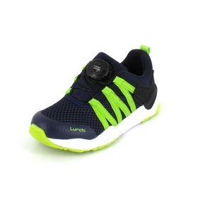 Lurchi Sneaker Leonit Größe 30, Farbe: NAVY NEONGREEN