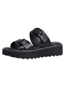 Tamaris Damen Sandalette schwarz 1-1-27227-26 weit Größe: 41 EU