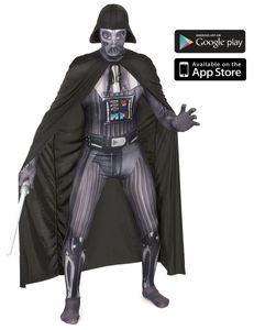 Offizieller Darth Vader Morphsuit, Größe:L