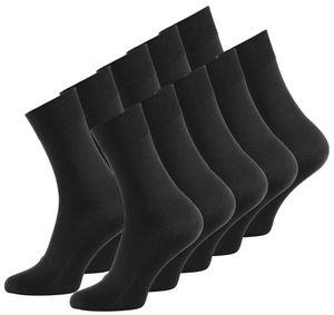VCA® Business Socken 10 Paar 43-46 schwarz