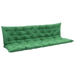 Auflage für Hollywoodschaukel Grün 180 cm