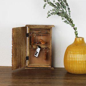 Schlüsselkasten aus Holz Kasbah
