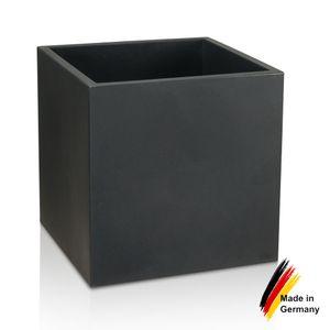 Pflanzkübel CUBO 60 Kunststoff Blumenkübel, 60x60x60 cm (L/B/H), Farbe: anthrazit matt