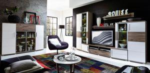 JAM Wohnzimmer Komplettset Wohnzimmerkombination Wohnwand Wohnset TV-Kombination