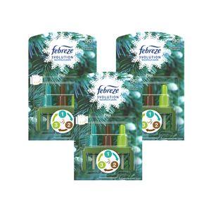 3 Stück Febreze 3Volution Pinie Flacon - Nachfüller 3 x 20ml