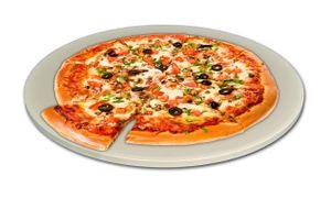 Pizzastein 25,5 cm Backstein Brotbackstein Grillstein Ideal für Pizzaofen
