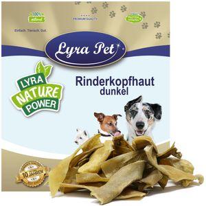 5 kg Lyra Pet® Rinderkopfhaut goldbraun, dunkel