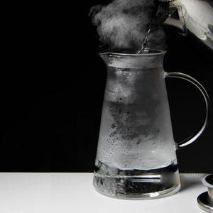 Glaskrug Mit Ausguss Für Heiß- / Kaltwassertee 1.3L Krug  Größe 1.3L Krug