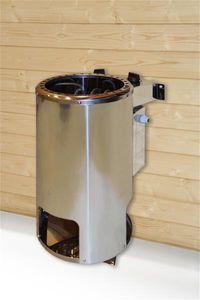Weka Saunaofen Kompakt rund 3,6kW / 230V mit integrierter Steuerung