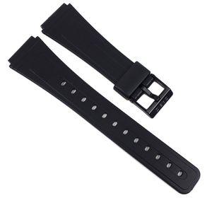 Casio Ersatzband Resin 19mm schwarz für AQ-45 AQ-49 DBA-80 FB-52 DB-30