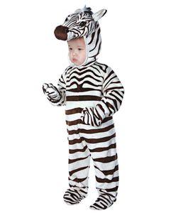 Zebra Faschingskostüm für Kleinkinder & Babys Größe: XL