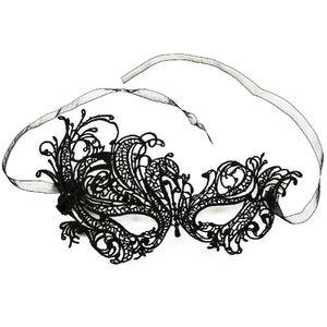 Oblique Unique Venezianische Maske Sexy Spitzen Augenmaske Karneval - Model 1