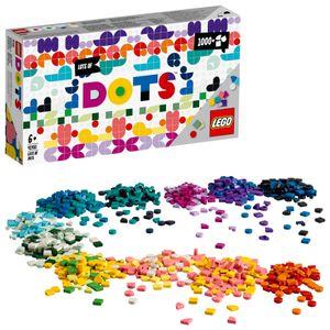 LEGO 41935 DOTS Ergänzungsset XXL Bastelset für Mädchen und Jungen, Steinchen für Kinderschmuck und Kinderzimmer-Deko