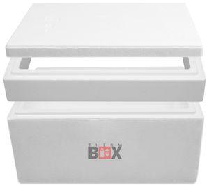 Modularbox 43M   Wand: 4,0 cm   Volumen: 43L   Innenmaß:49x30x28cm   Erweiterbar Isolierbox Thermobox Kühlbox Warmhaltebox
