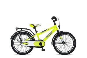 20 Zoll Kinder City Fahrrad Rad Bike Jungenfahrrad Kinderfahrrad Kinderrad Rücktrittbremse Rücktritt Beleuchtung STVO ALTEC STITCH LIME Gelb