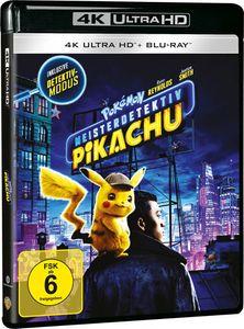 Pokemon - Meisterdetektiv Pikachu (UHD) Min: 108DD5.1WS  2Disc, 4K Ultra