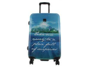 Saxoline Blue Koffer Spinner mit 4-Doppelrollen Gr. L 78 cm Island