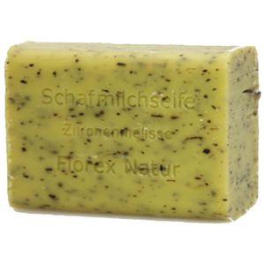 4x Florex Schafmilchseife Zitronenmelisse 100 g Stück Seife Naturseife Schafmilch