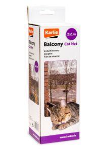 Karlie Katzenschutznetz Transparent versch. Größen, Größe:3 x 2 m