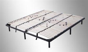 i-flair Lattenrost, Gästebett 180x200 cm auf Füßen, für alle Matratzen geeignet