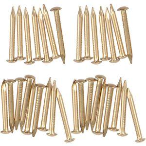 Mllaid 200 Stück Kupfernägel für die Entfernung von Baumstümpfen 8mm
