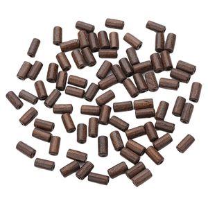 300 Stück Rohr Holzperle Kann Verwendet Werden, Um Halskette, Armband, Makramee, Vorhänge, Kissen zu Machen