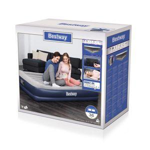 Bestway® Tritech™ Luftbett, 203 x 152 x 36 cm, Double, mit integrierter Elektropumpe