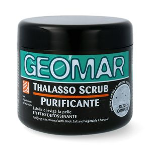 GEOMAR Thalasso Scrub Detox mit schwarzem Salz & Vulkansand 600 g