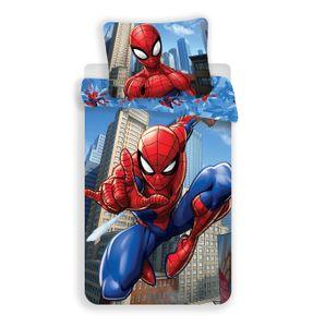 Spiderman Marvel - Kinder Jugend Bettwäsche Set 135/140x200 Baumwolle für Jungen