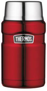 THERMOS Speisegefäß STAINLESS KING 0,71 Liter rot