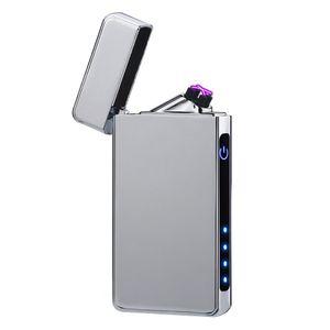 Lichtbogen Feuerzeug Elektro Feuerzeug USB Aufladbar Touchscreen Plasma Lighter
