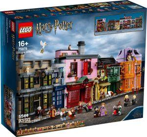 LEGO Harry Potter Winkelgasse - 75978, Bausatz, Junge/Mädchen, 16 Jahr(e), 5511 Stück(e)