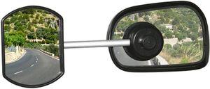 Defa Caravan-Spiegel mit Saugnapf etwa 11 cm schwarz
