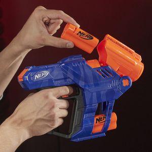 Hasbro Nerf N-Strike Elite Shellstrike DS-6 Nerf Gun 28cm blau/orange ab 8 Jahre