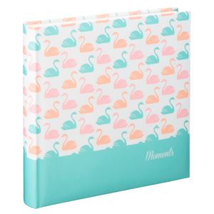 "Hama - 2483 Jumbo-Album Swan"", 30x30 cm, 80 weiße Seiten, Pastell"