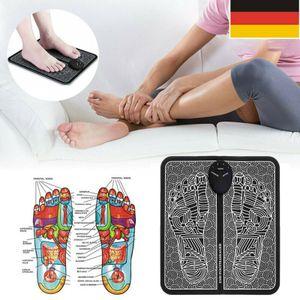 Melario Fußmassage FußMassagegerät Shiatsu Reflexzonen Massage mit Wärmefunktion Fuß